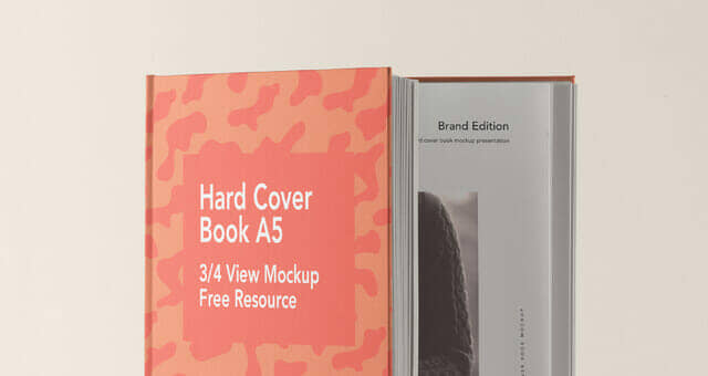 New A5 Hardcover Book