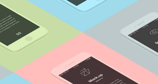Perspective App Screens Mockup