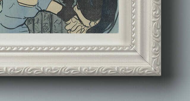Rustic Ornamental Frame Mockup