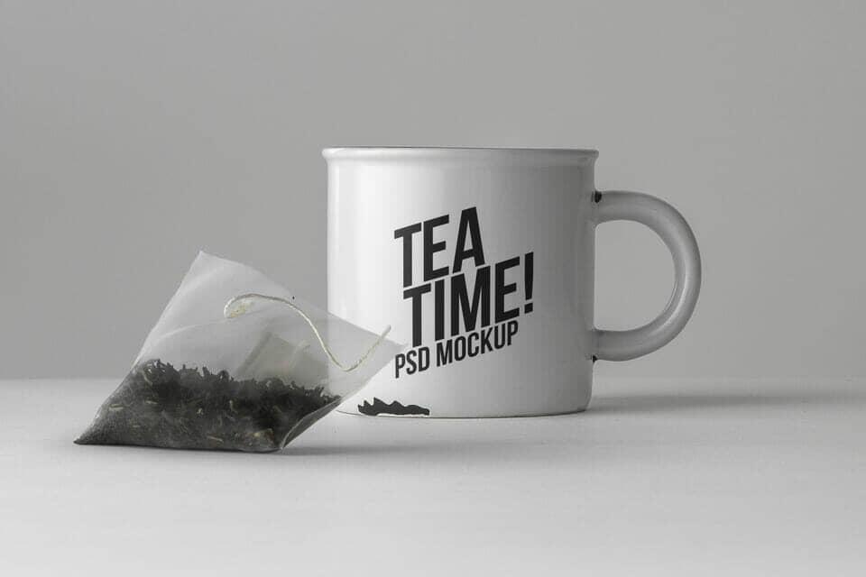 New Tea Mug Mockup