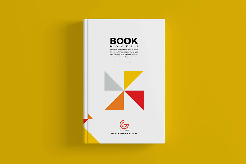 Book Cover Mockup for Branding