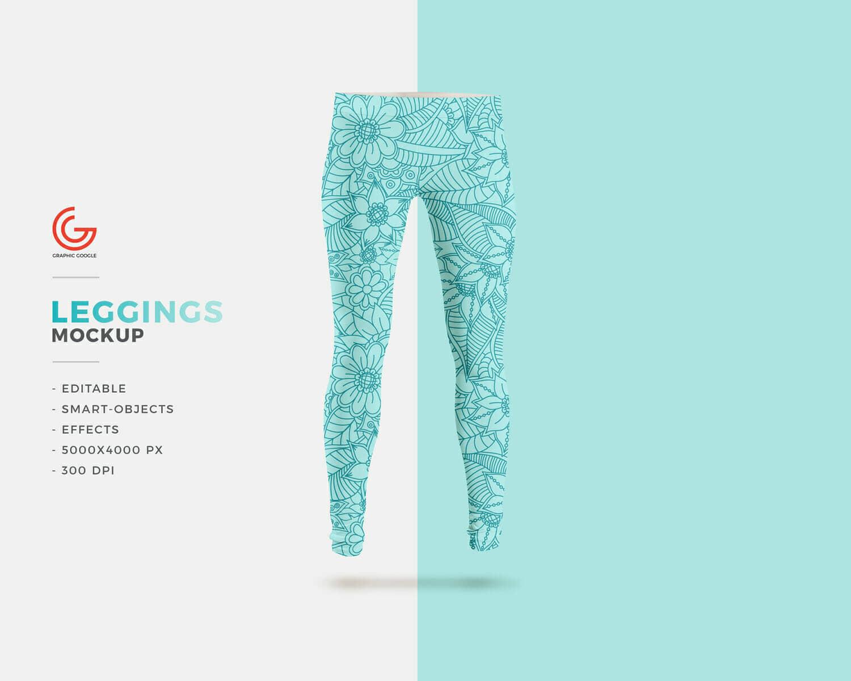 New Colored Leggings Mockup