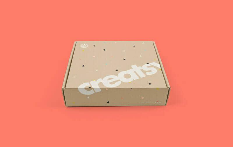Free Mailing Box PSD