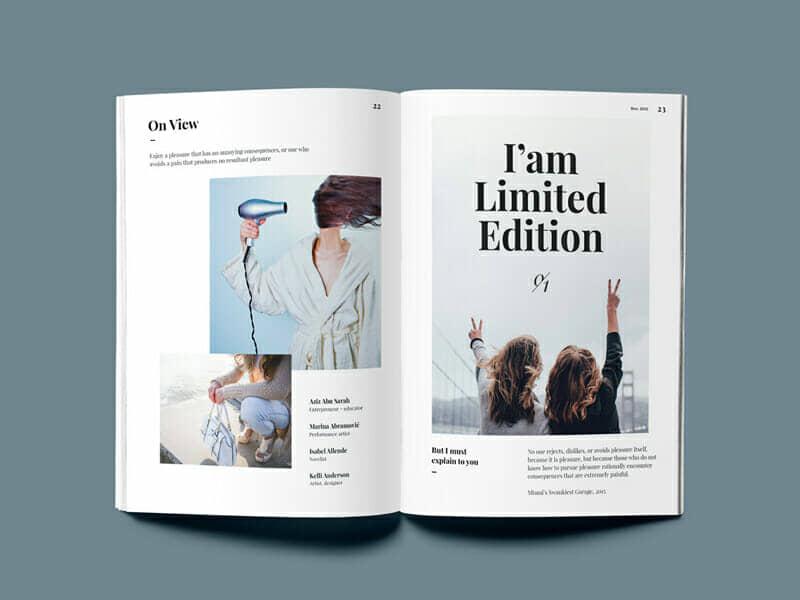 Photorealistic Magazine Mockup Complete Set