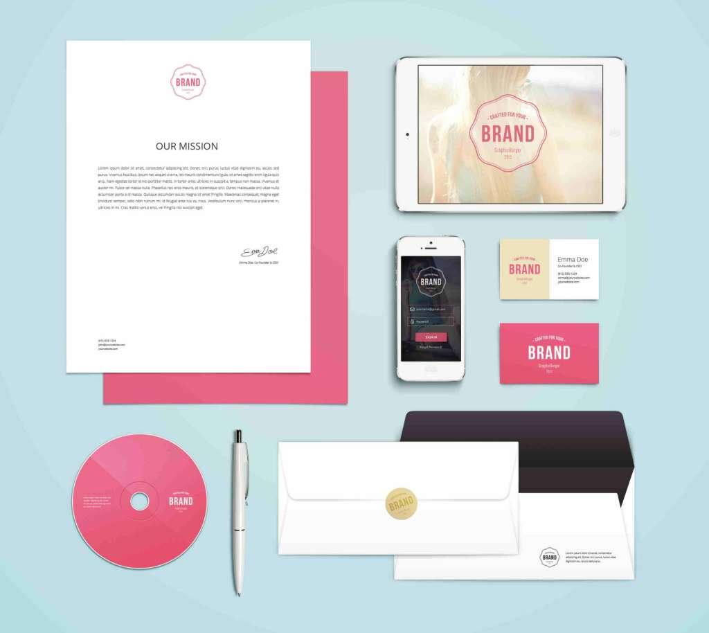 Clean Branding Identity MockUp Vol.4