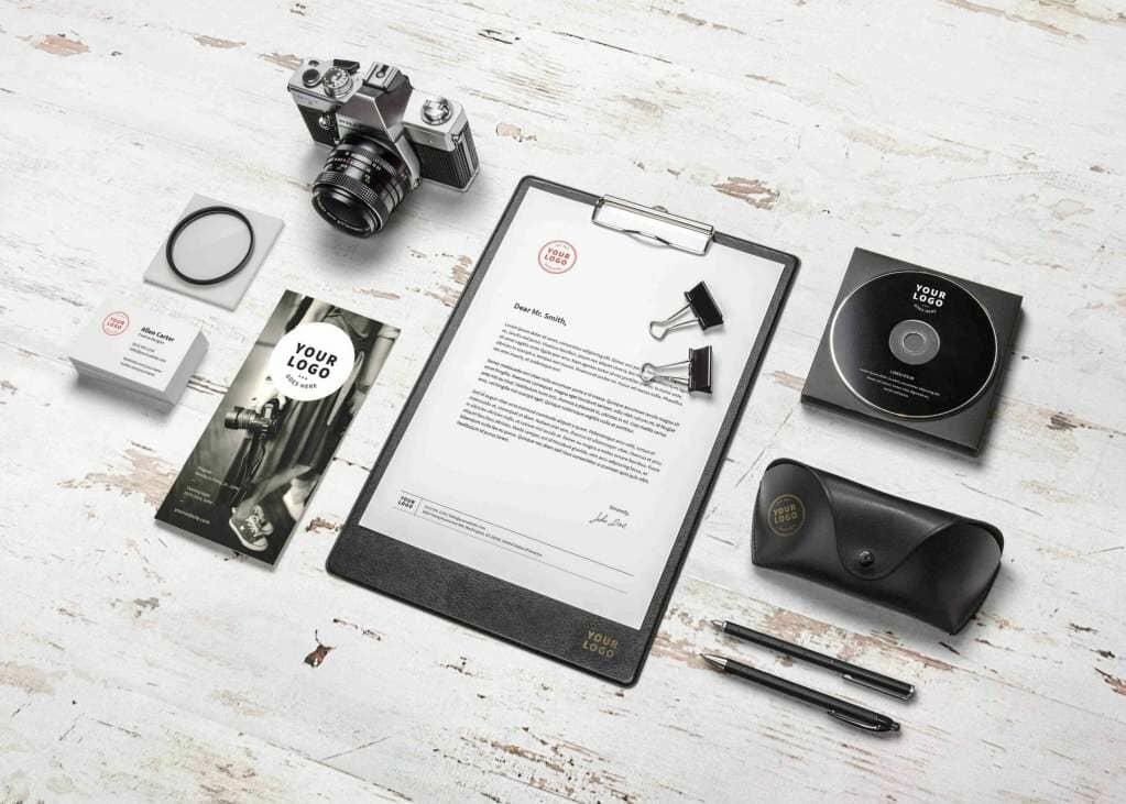 Photography Based Branding Identity Mockup Vol.10