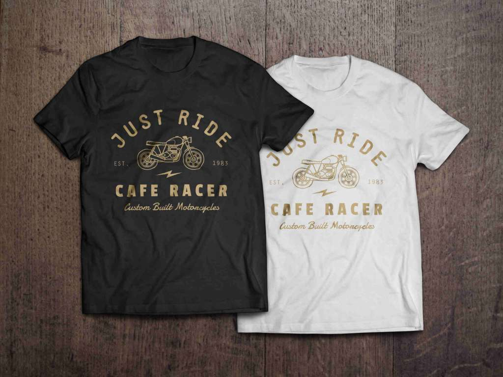 Realistic T-Shirt Design Mockup