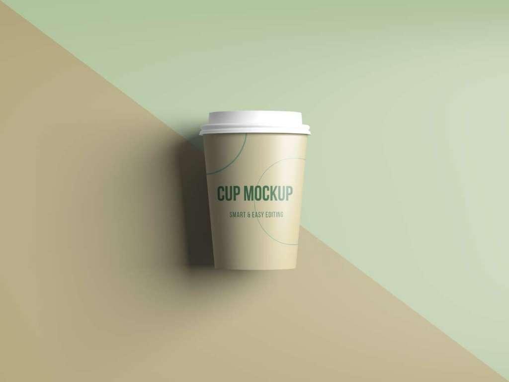 Short Coffee/Tea Cup Mockup