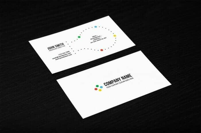 3 Dark-Background Business Card Mockups