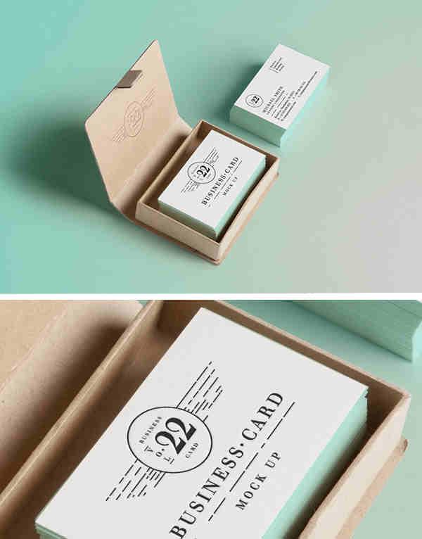Stylish Business Card MockUp #2