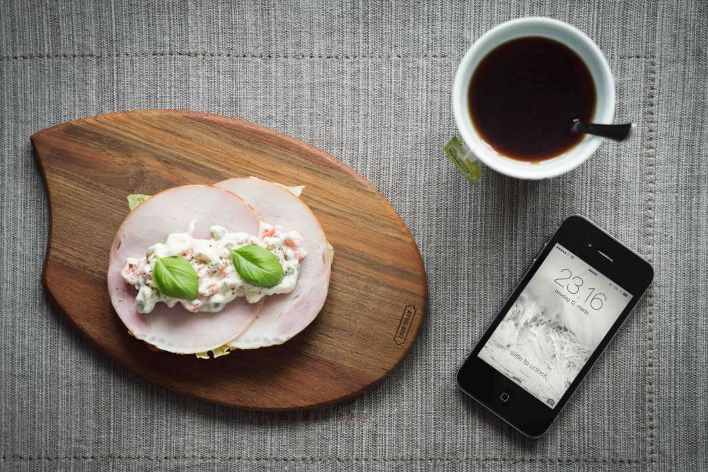 Food Themed iPhone Photography Mockup