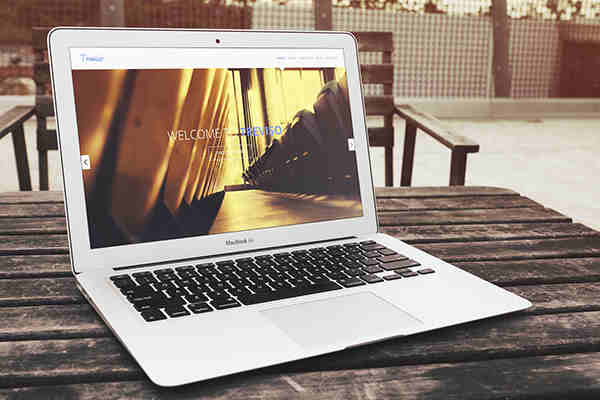 Photo Realistic MacBook Air Mockup